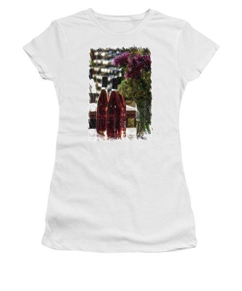 Wine Bottles Pa Vertical Women's T-Shirt