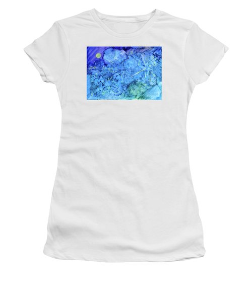 Winged Chaos Under The Moon Women's T-Shirt
