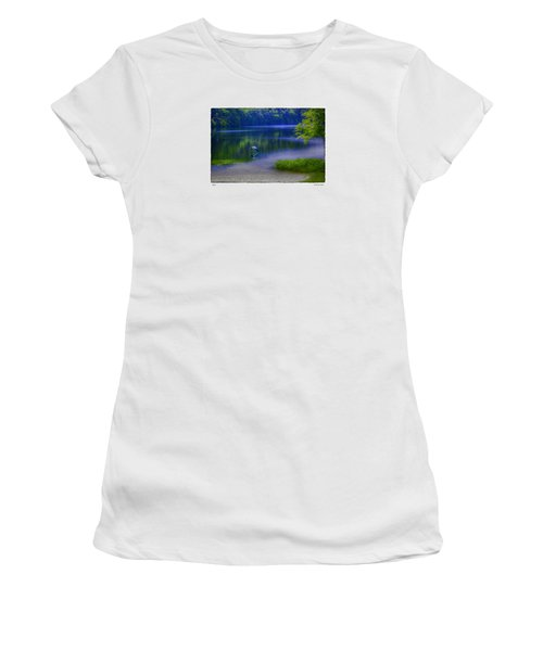 Women's T-Shirt (Junior Cut) featuring the photograph Wings by R Thomas Berner