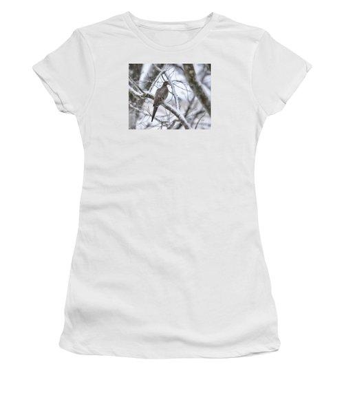 Winter Admiration Women's T-Shirt (Junior Cut) by Kerri Farley