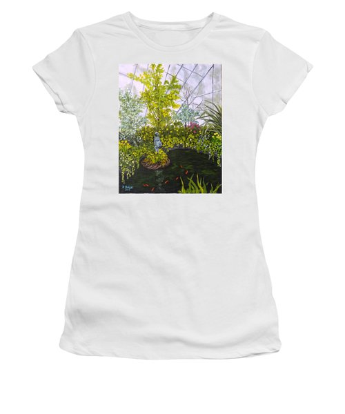 Winter At Allan Gardens Women's T-Shirt (Athletic Fit)