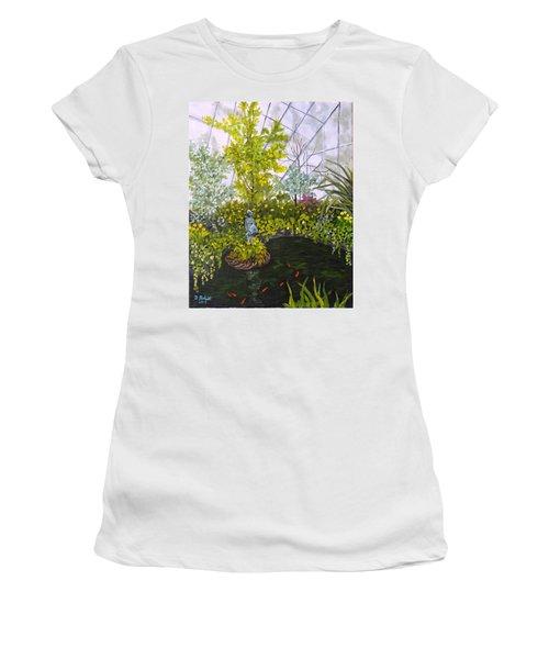 Winter At Allan Gardens Women's T-Shirt (Athletic Fit)