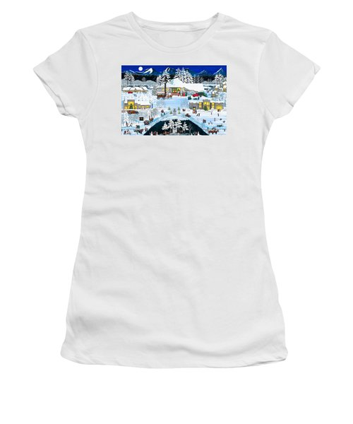 Winter At Black Butte Women's T-Shirt