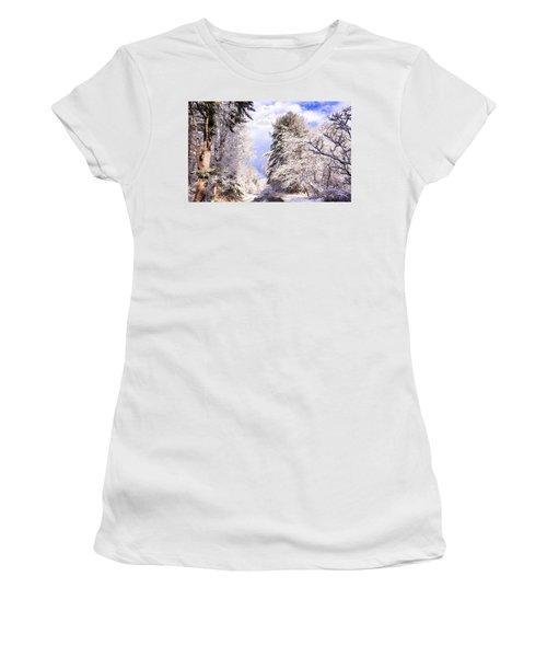 Winter Drive Women's T-Shirt