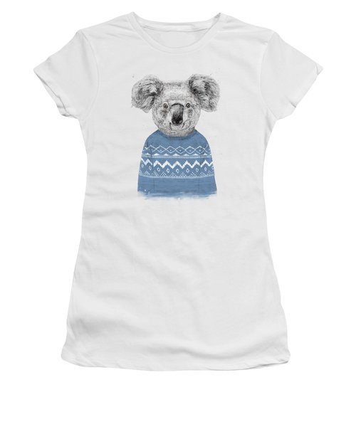 Winter Koala Women's T-Shirt