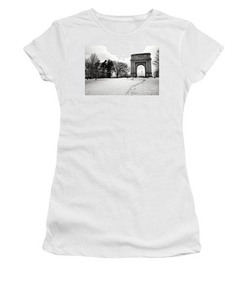 Winter Path To Glory Women's T-Shirt