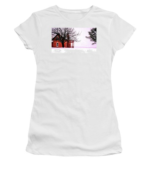 Winter Retreat Women's T-Shirt