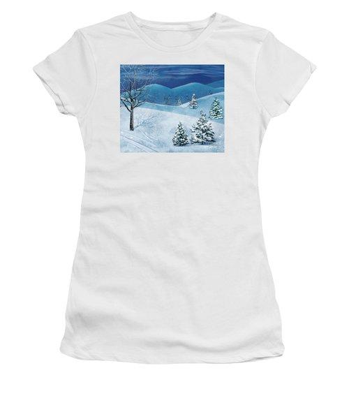 Winter Solstice Women's T-Shirt (Athletic Fit)