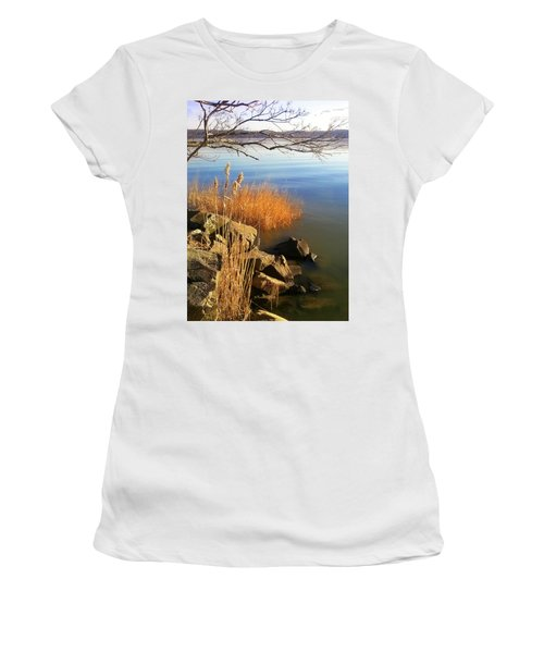 Winter Water Women's T-Shirt (Athletic Fit)