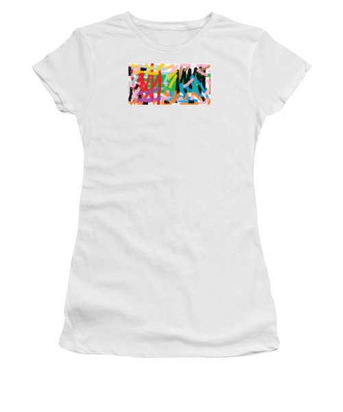 Wish - 28 Women's T-Shirt (Junior Cut) by Mirfarhad Moghimi