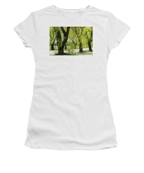 Wispy Willows-1 Women's T-Shirt