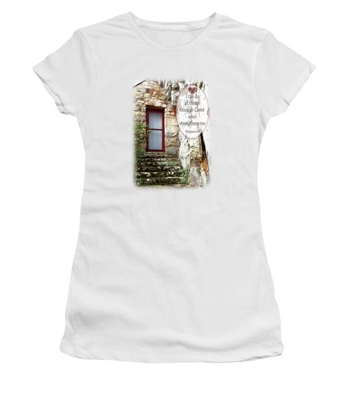 With Me - Verse And Heart Women's T-Shirt