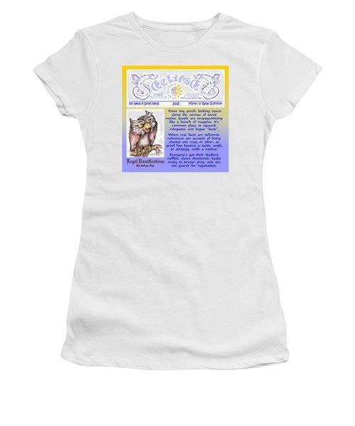 Real Fake News Legal Column 4 Women's T-Shirt