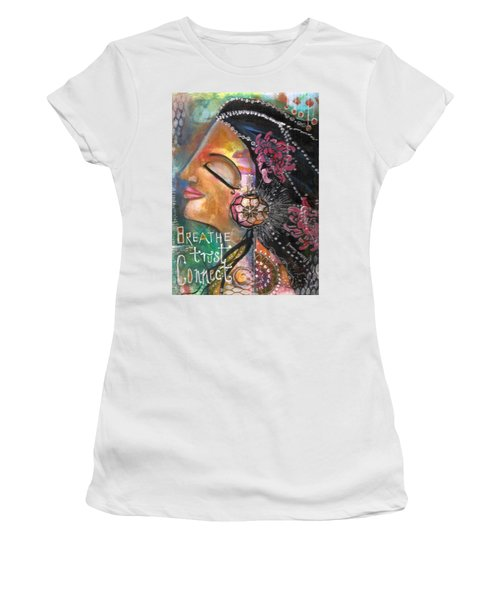 Woman Art Women's T-Shirt (Athletic Fit)