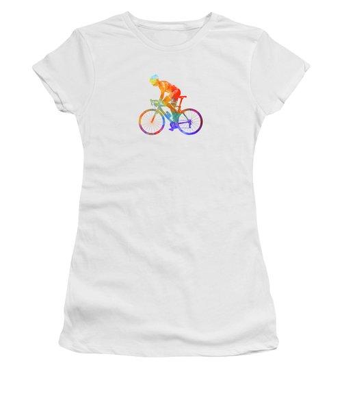 Woman Triathlon Cycling 01 Women's T-Shirt