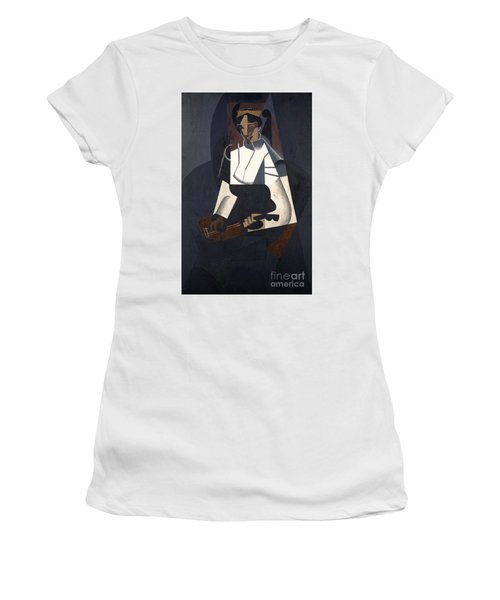 Woman With Mandolin Women's T-Shirt