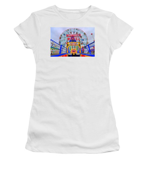 Wonder Wheel Women's T-Shirt (Athletic Fit)