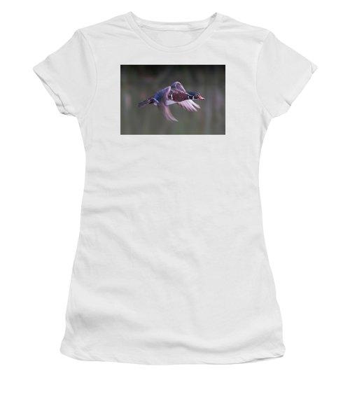 Wood Duck Flight Women's T-Shirt