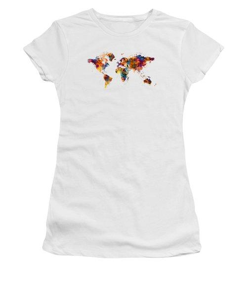 World Map Women's T-Shirt