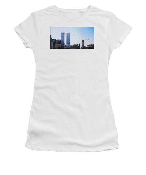World Trade Center Once Upon A Time... Women's T-Shirt (Athletic Fit)