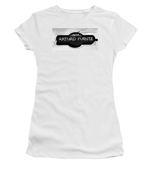 Worlds Finest Cigar Women's T-Shirt (Athletic Fit)