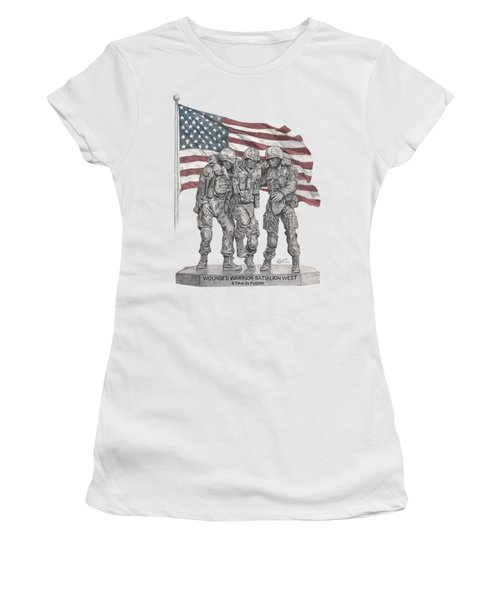 Wwbnw Women's T-Shirt (Athletic Fit)
