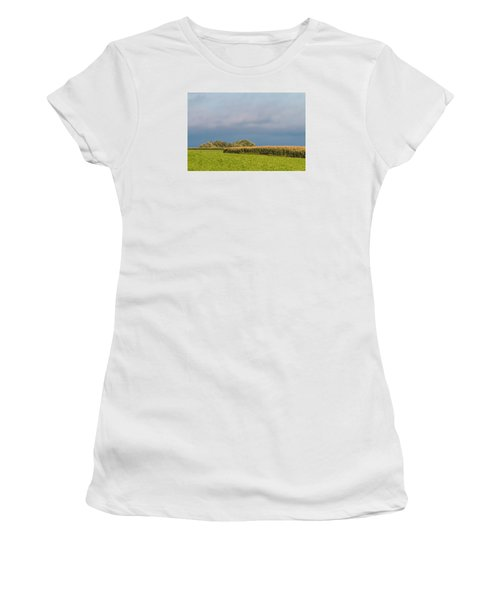 Women's T-Shirt featuring the photograph Farmer's Field by Patti Deters