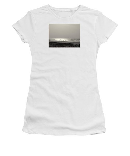 Women's T-Shirt (Junior Cut) featuring the photograph Y O L O by Mim White