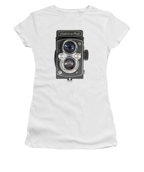 Yashica Mat Twin Lens Reflex Women's T-Shirt (Athletic Fit)