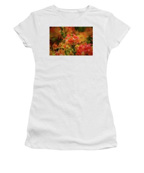 Yellow And Orange #h6 Women's T-Shirt