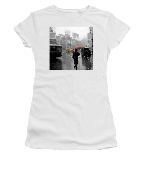 Yellow Cabs New York 2 Women's T-Shirt (Athletic Fit)