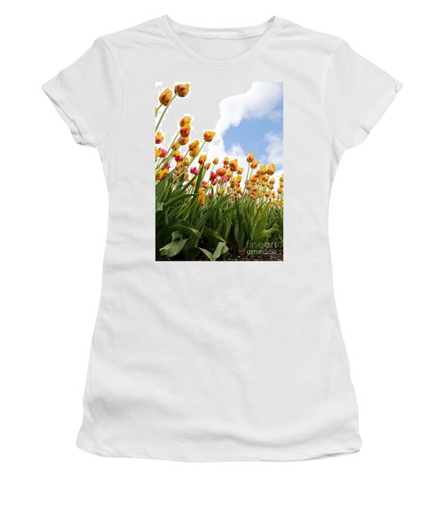 Women's T-Shirt (Junior Cut) featuring the photograph Yellow Fever by Robert Pearson