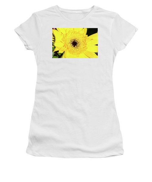 Yellow Pedal Women's T-Shirt (Athletic Fit)