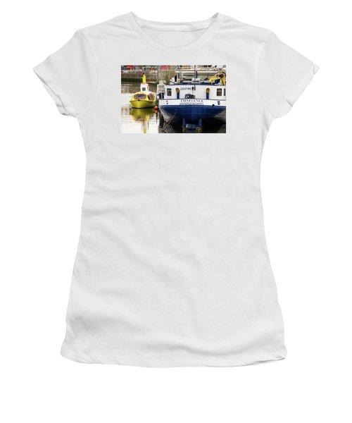 Yellow Submarine Women's T-Shirt (Athletic Fit)