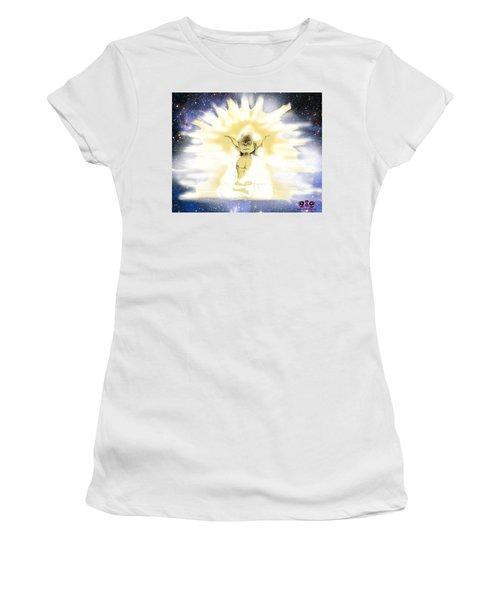 Yoda Budda Women's T-Shirt (Athletic Fit)