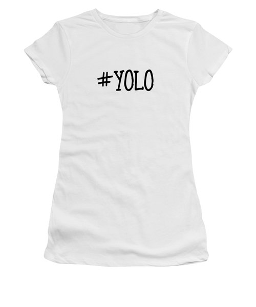 #yolo Women's T-Shirt (Athletic Fit)