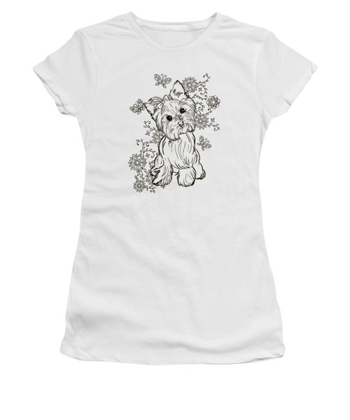 Yorkie Terrier Women's T-Shirt (Athletic Fit)