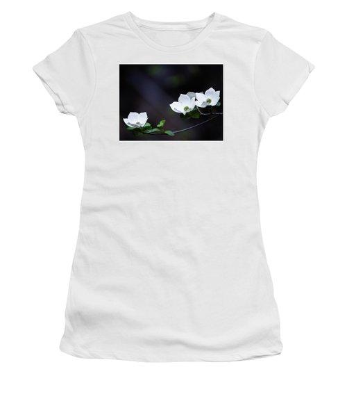 Yosemite Dogwoods Women's T-Shirt (Athletic Fit)