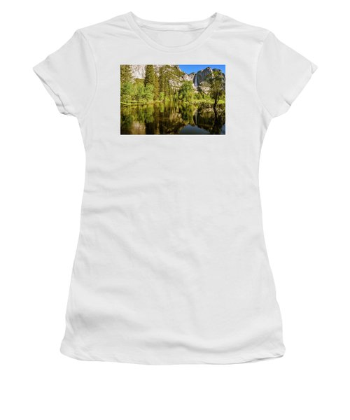 Yosemite Reflections On The Merced River Women's T-Shirt