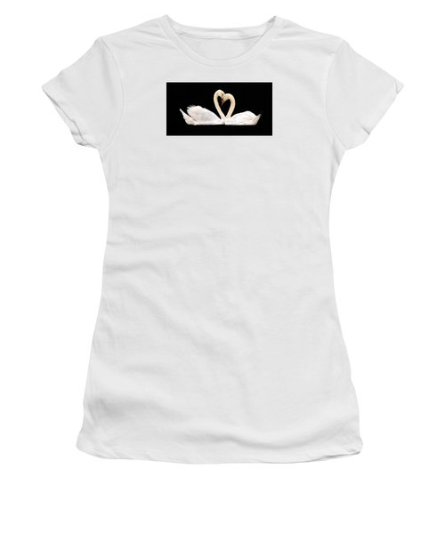 Women's T-Shirt (Junior Cut) featuring the photograph Young Love by Cathy Donohoue