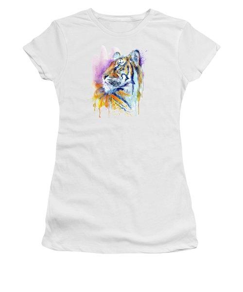 Young Tiger Portrait Women's T-Shirt