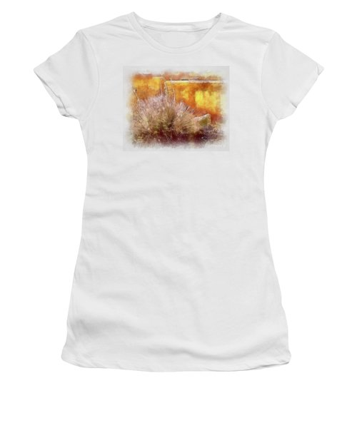 Yucca And Adobe In Aquarelle Women's T-Shirt