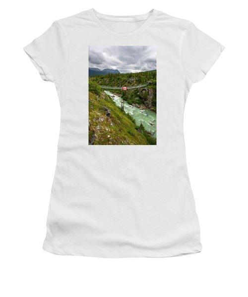 Yukon Suspension Bridge Women's T-Shirt