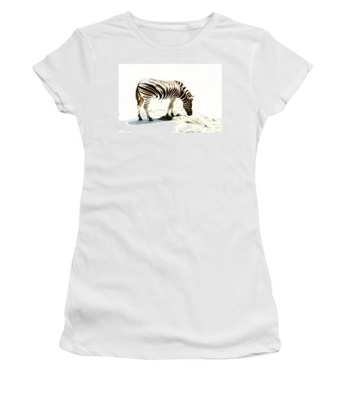 Zebra Stripes Women's T-Shirt