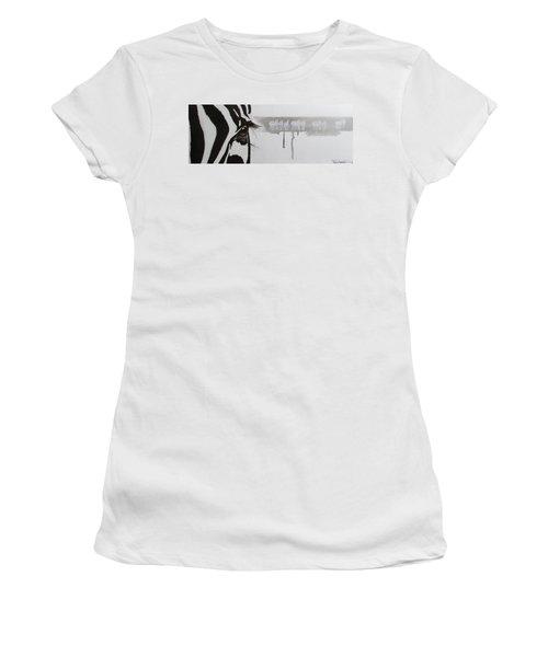 Zebra Tears Women's T-Shirt