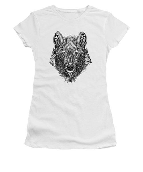 Zendoodle Wolf Women's T-Shirt