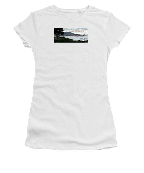 Women's T-Shirt (Junior Cut) featuring the photograph Zeppelin Gratitude by David Norman