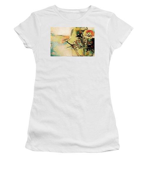 Zinnias From The Garden Women's T-Shirt
