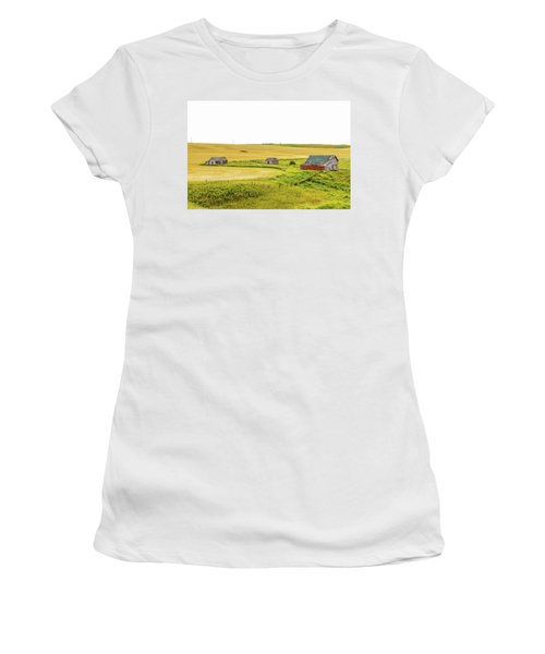 A Sign Of The Times, Run Diown Farm Out Buildings And Barns, Alb Women's T-Shirt