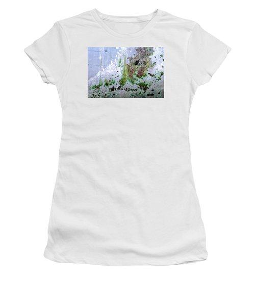 Women's T-Shirt featuring the photograph Art Print Abstract 31 by Harry Gruenert